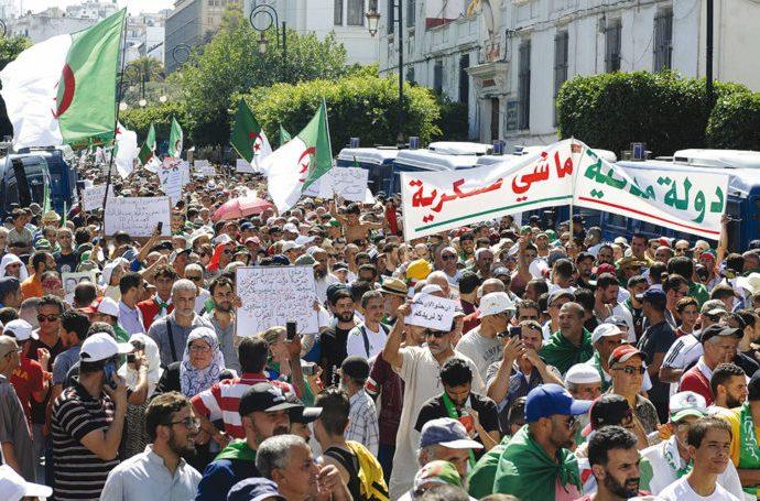 28e vendredi du hirak à Alger : «Souveraineté populaire, transition…»