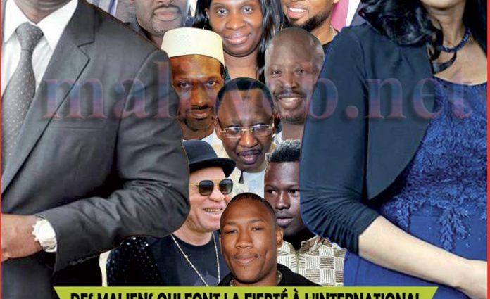 Des maliens qui font la fierté à l'international : Voici le top 15 !