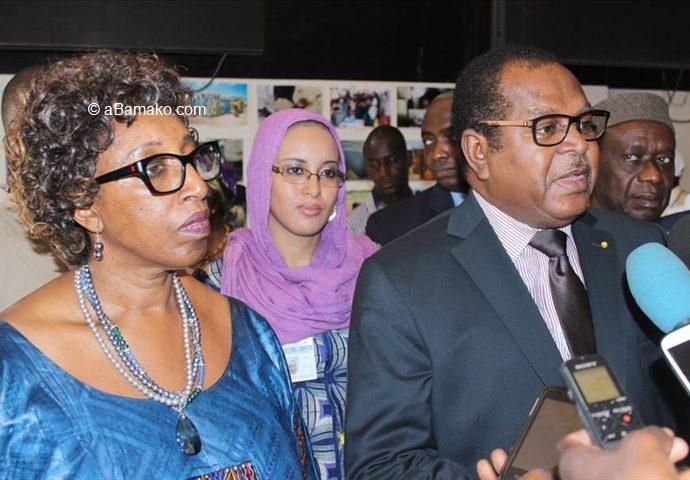 """Le ministre Hamadoun Konaté à l'occasion de la célébration de la journée mondiale de l'aide humanitaire """"Célébrer la femme, en célébrant l'aide humanitaire, c'est lui rendre justice"""""""