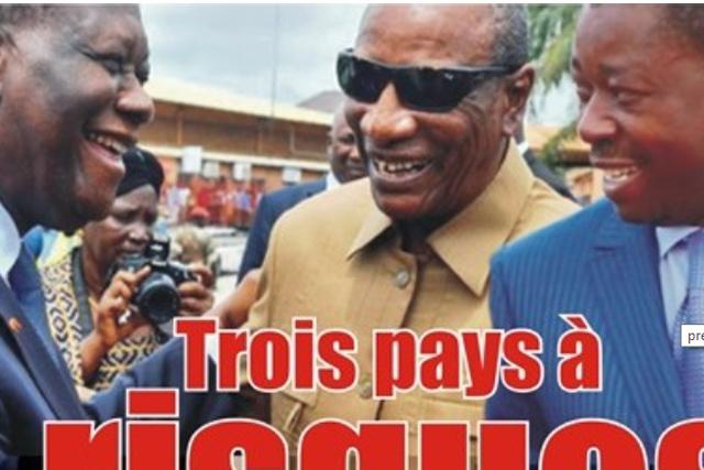 Présidentielles en 2020/ Togo-Guinée-Côte d'Ivoire : Trois pays à risques