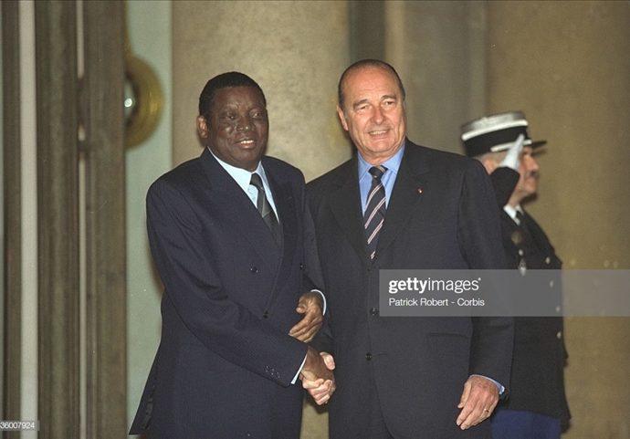 Jacques Chirac, des liens étroits avec les dirigeants africains