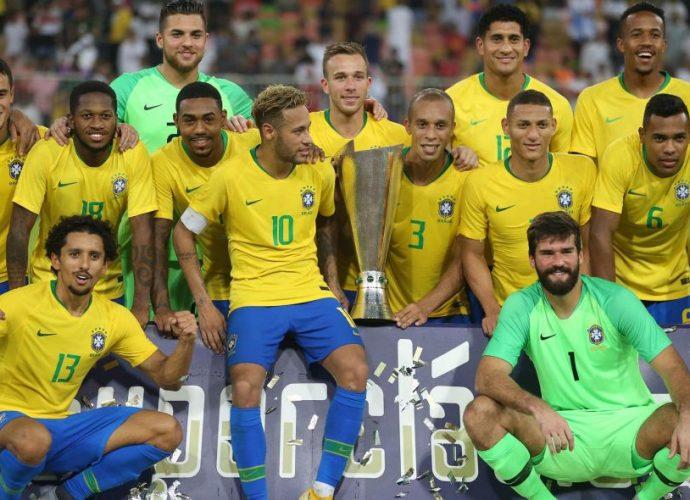 Afrique Amical: La liste du Brésil contre le Sénégal et le Nigeria