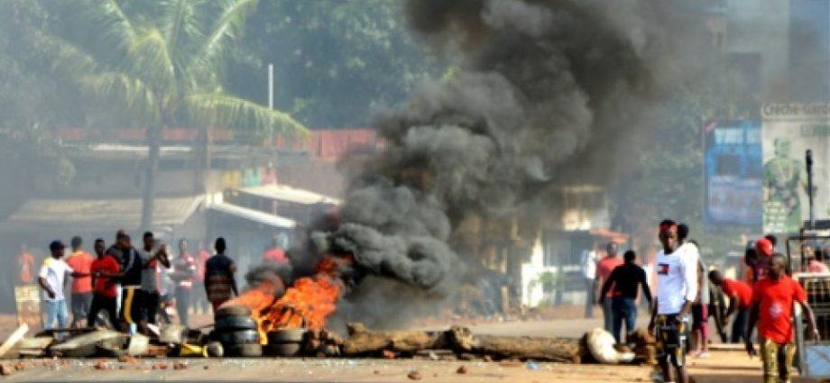 Guinée: 9 morts dans les manifestations selon le gouvernement