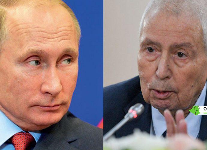 La Russie réagit à la polémique sur le discours de Bensalah à Vladimir Poutine