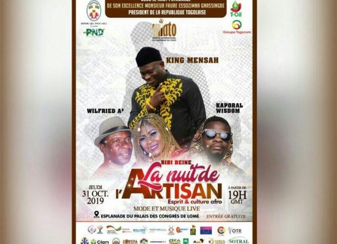 Togo/Miato : mode et culture afro s'invitent à la nuit de l'artisan
