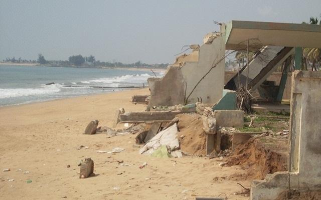 Le Togo menacé par l'érosion côtière