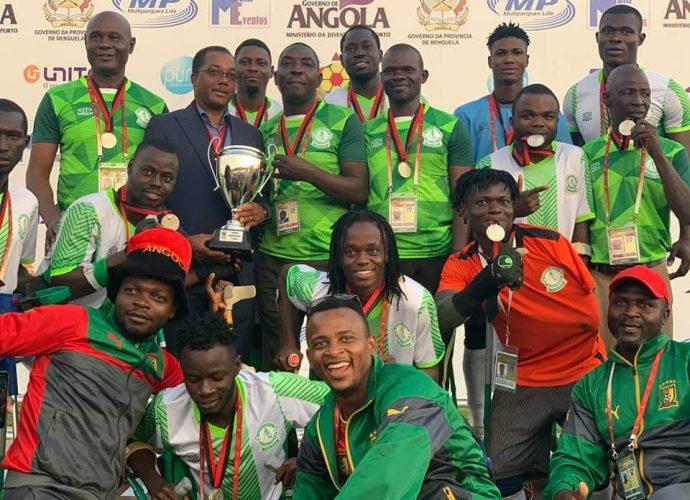 Afrique CAN des amputés 2019: l'Angola encore champion