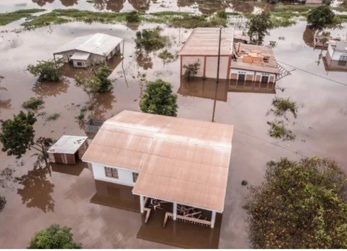 Maisons détruites, villages submergés en Centrafrique