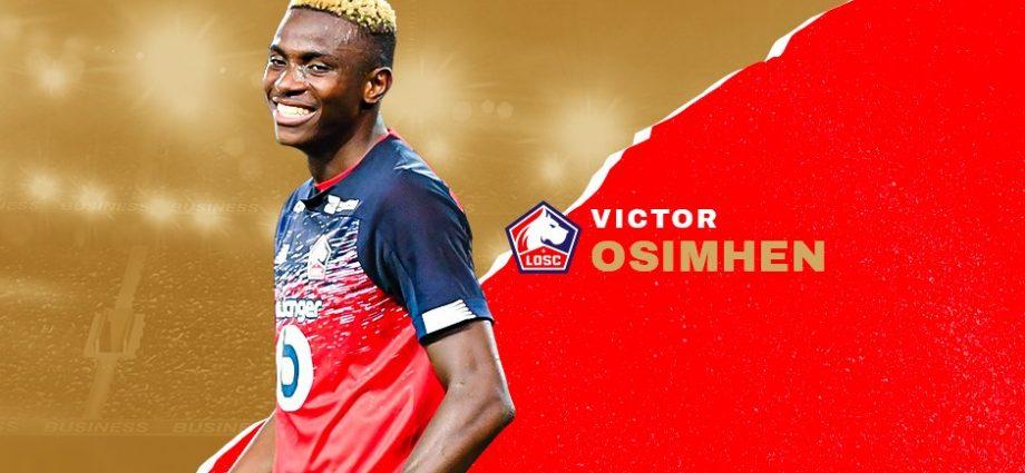 Afrique Ligue 1 : Osimhen meilleur joueur du mois de septembre