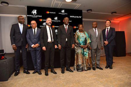Banque Atlantique, première banque de la sous-region à proposer la carte de Prestige World Elite de Mastercard