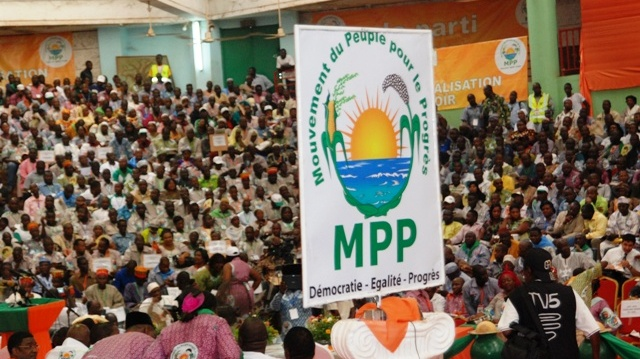 Burkina : Le MPP soutient l'appel du Président du Faso