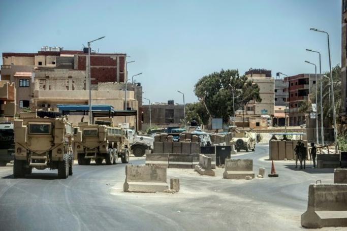 Egypte : 83 jihadistes présumés tués dans le Nord-Sinaï