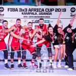 Basket-Ball FIBA 3×3 Africa Cup 2019: Triomphes de l'Egypte et du Mali