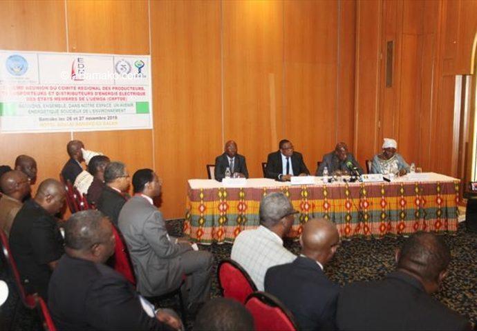 6ème réunion du comité régional d'électricité: Producteurs, transporteurs et distributeurs de l'électricité face au défi énergétique
