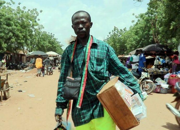 Bouba Gamsonré : de la folie au commerce, voici l'émouvante histoire d'un battant