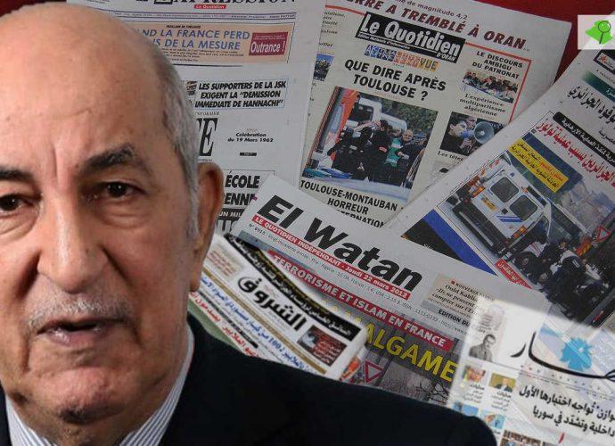Quand Tebboune menace les médias algériens