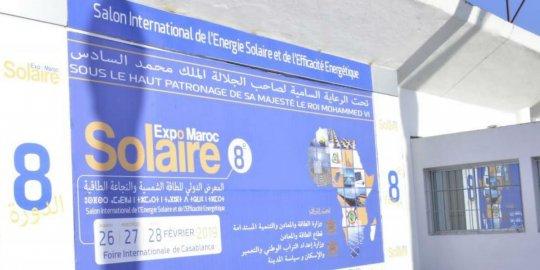 AGENDA CASABLANCA, 25-27/02 - La 9e édition du « Solaire Expo Maroc » ouvrira ses portes fin février à Casablanca