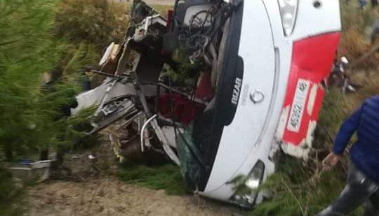 17 MORTS, DERNIER BILAN DE L'ACCIDENT DE TAZA