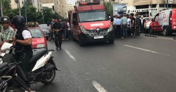 UN CHAUFFEUR D'AUTOBUS ÉCRASE UN RABBIN ISRAÉLIEN A CASABLANCA