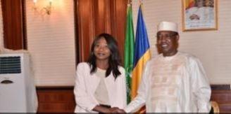 TCHAD – RCA : la cheffe de la diplomatie centrafricaine reçue par Idriss Déby