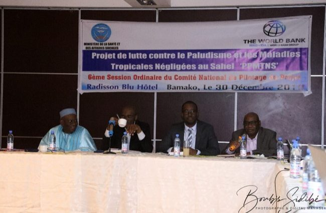 6è session du comité de pilotage du projet Paludisme et maladies tropicales négligées au Sahel : Consolider les acquis pour faire face au défi