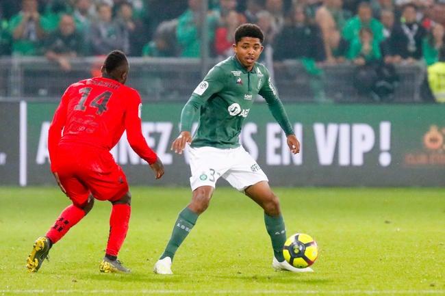 Foot Afrique Saint-Etienne: Wesley Fofana savoure son premier but avec l'équipe A