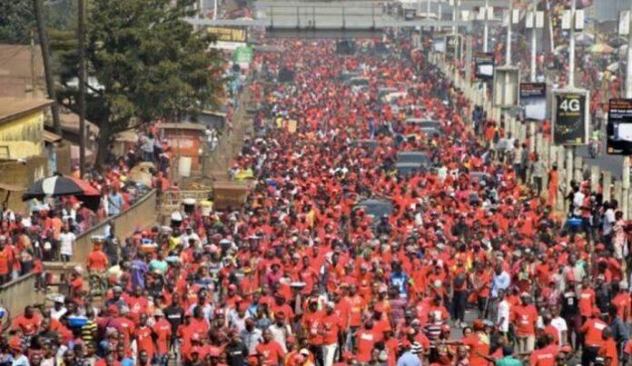 Guinée : 12 blessés dans une manifestation contre un 3e mandat