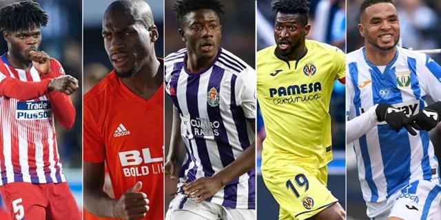 Afrique Espagne : Découvrez les 5 meilleurs joueurs africains de la Liga