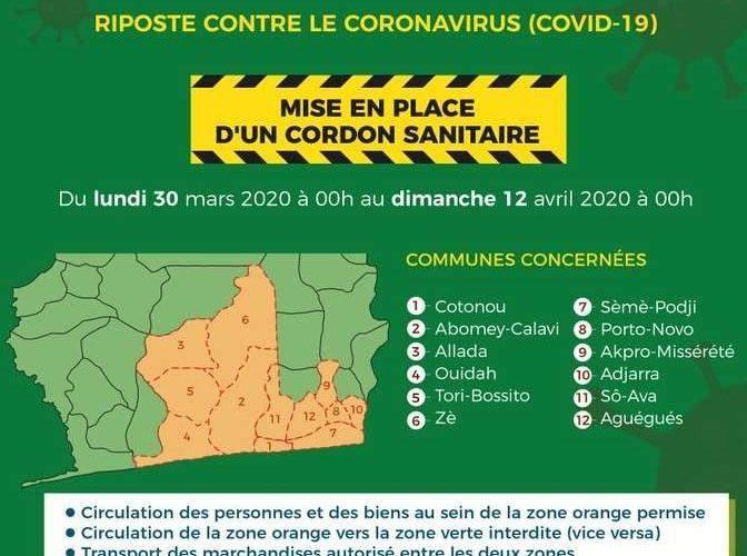 Coronavirus au Bénin : une situation bien maitrisée