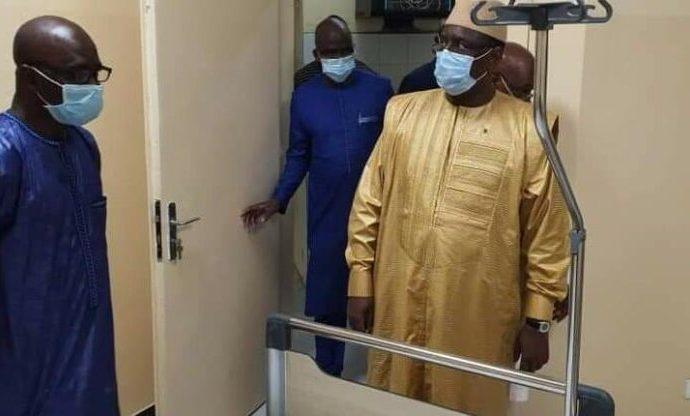 Covid-19 : Descente surprise de Macky Sall à l'hôpital Idrissa Pouye ex CTO (photos)