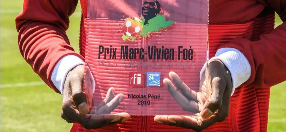 Prix Marc-Vivien Foé 2020 : 11 candidats pour succéder à Nicolas Pépé