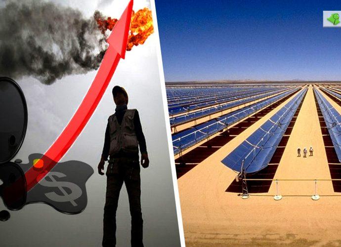 Pétrole : Les prix du baril en hausse, l'Algérie se tourne vers l'énergie solaire