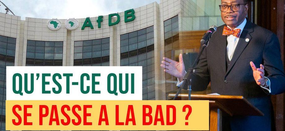 Vidéo: qu'est-ce qui se passe à la BAD ?