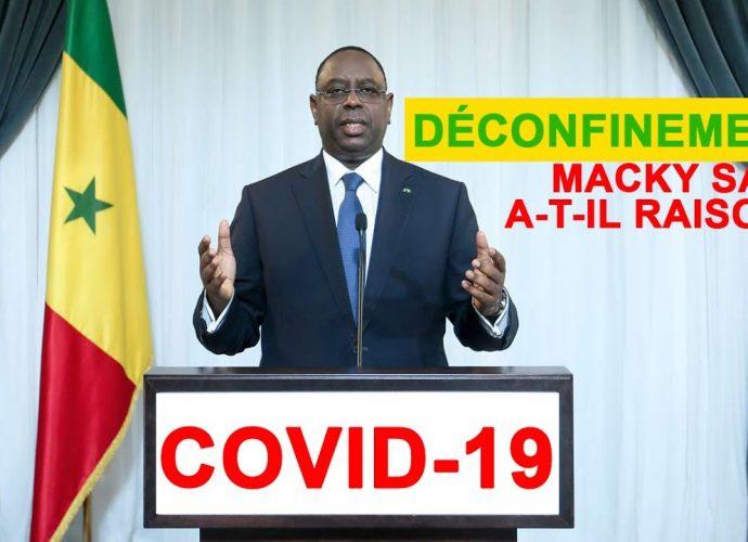 Covid-19 et déconfinement: Macky Sall a t-il raison?