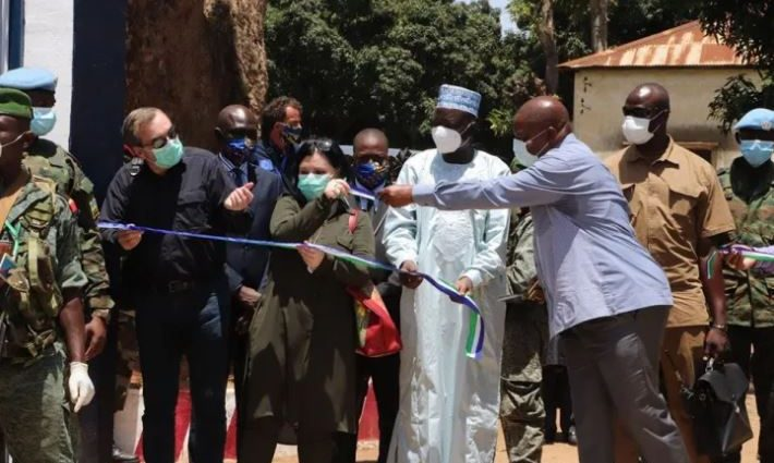 Le Président Touadera inaugure la zone de défense nord-ouest