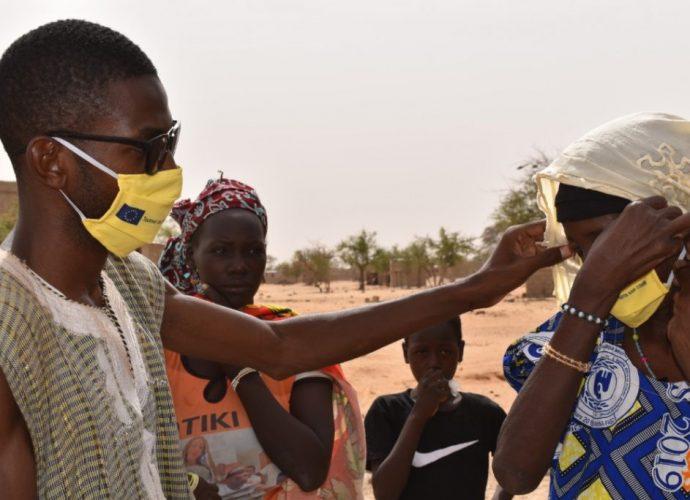 COVID-19 au Burkina Faso : Le geste de l'Association Suudu Andal
