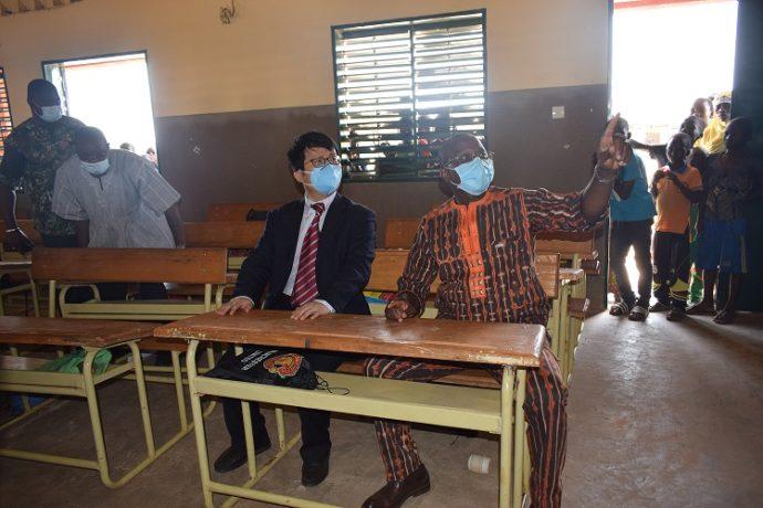 Coopération sino-burkinabè : 113 complexes scolaires inaugurés au Burkina