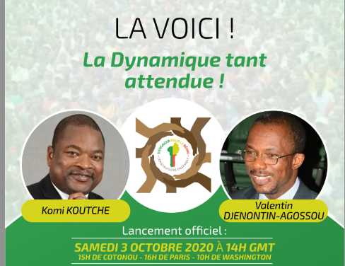Bénin: une nouvelle plateforme dans le paysage politique