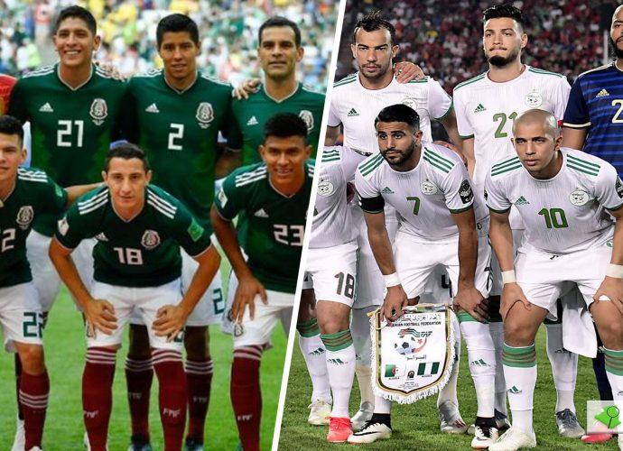 Algérie – Mexique : La composition officielle des fennecs