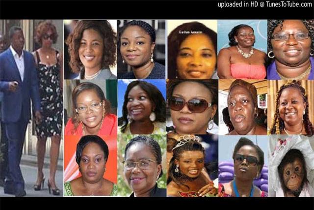 Ces femmes qui tiennent le président Gnassingbé, avec rapacité