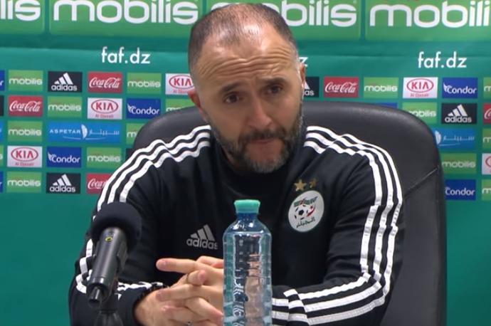 Algérie Djamel Belmadi (coach Algérie) : « Notre rencontre contre le Mexique a été bien meilleure »