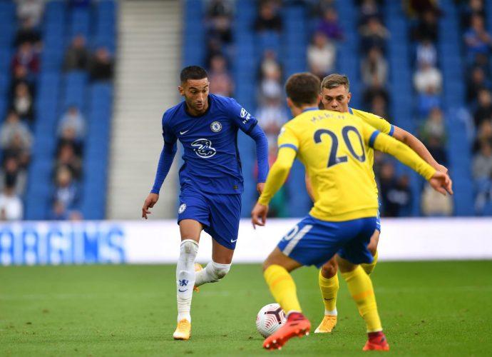 Angleterre Chelsea : Première pour Hakim Ziyech avec les Blues