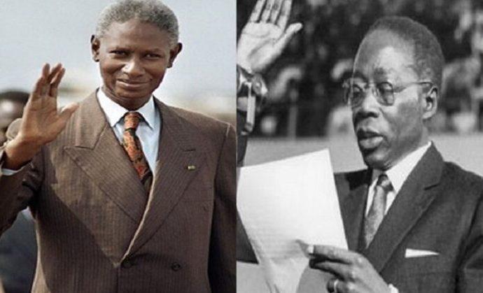 AUJOURD'HUI: 31 décembre 1980, le président Senghor démissionne et se fait remplacer par Diouf