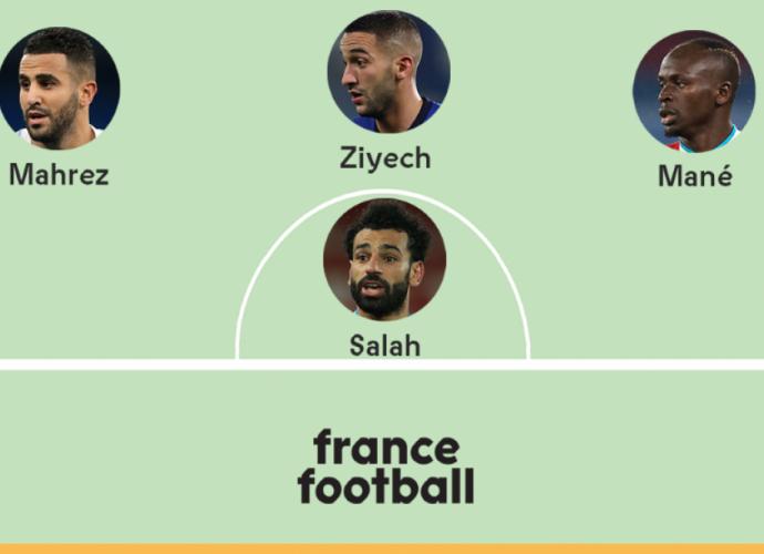 Afrique football Les 11 meilleurs joueurs africains de l'année 2020 selon ''france football''