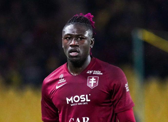 """Football Kevin N'doram (Fc Metz) : """"Mon niveau revient petit à petit"""""""