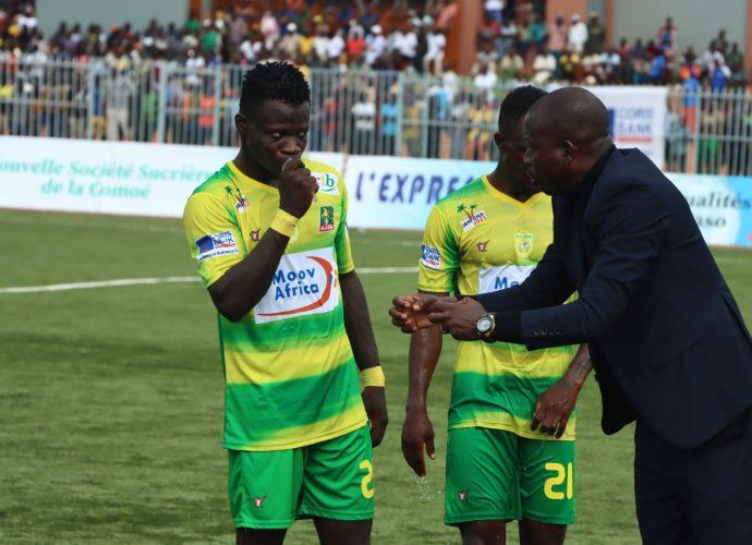 Coupe CAF : L'entraîneur de l'ASFA Yennenga Rigo Gervais retourne à San Pédro