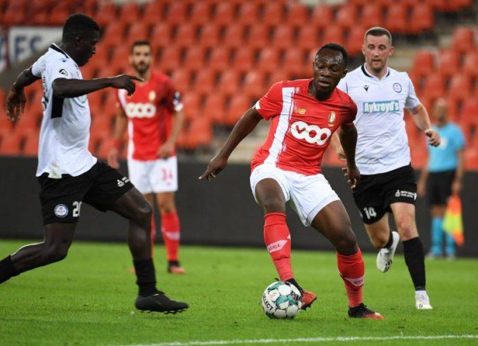 Belgique Standard de Liège : le Congolais Jackson Muleka encore blessé